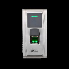 Terminal d'accès biométrique autonome extérieure métallique
