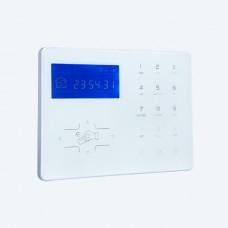 Intelligent TCP/IP+ GSM/GPRS network alarm panel